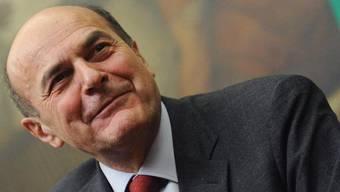 Treffen mit Rivale Berlusconi: Pier Luigi Bersani (Archiv)