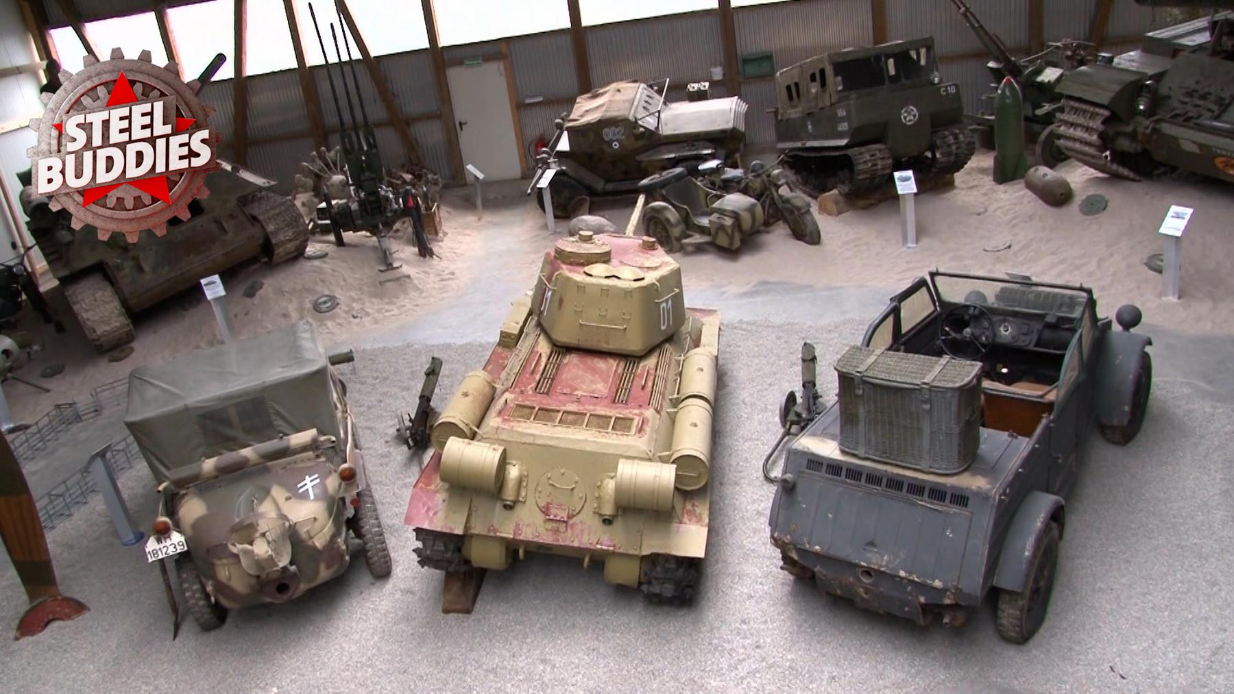 Steel Buddies, S05E01 Ein Panzer für den Garten-TN