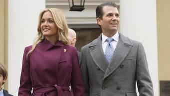 Wollen künftig getrennte Wege gehen: Donald Trump Jr. und seine Noch-Ehefrau Vanessa. (Archivbild)