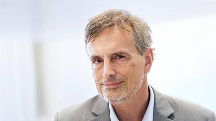 Jürgen Schmidhuber: «Bald wird es wohl kleine billige Rechner geben, die so viel rechnen können wie ein Menschenhirn.»Claudio Bader/13 Photo