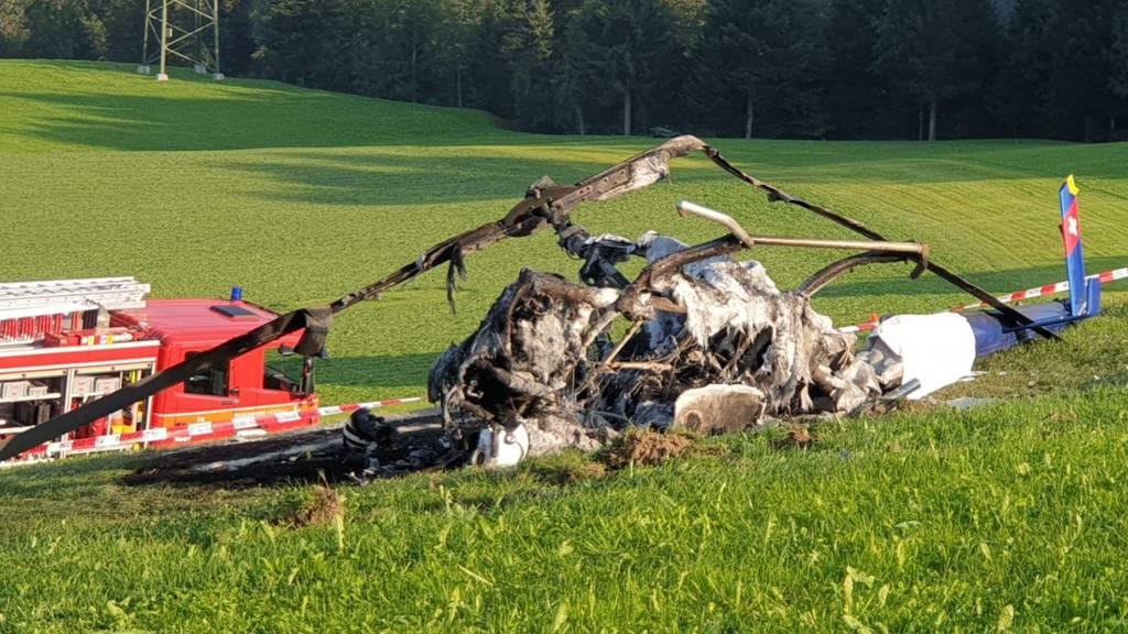 59-Jähriger stirbt bei Helikopter-Absturz
