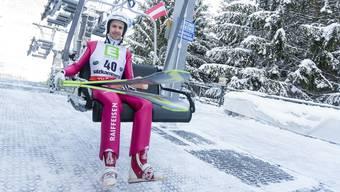 Simon Ammann peilt bei seinen sechsten Olympischen Spielen noch einmal einen Podestrang an.