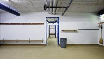Die Gästegarderobe des FC Mümliswil wurde demoliert. (Symbolbild)