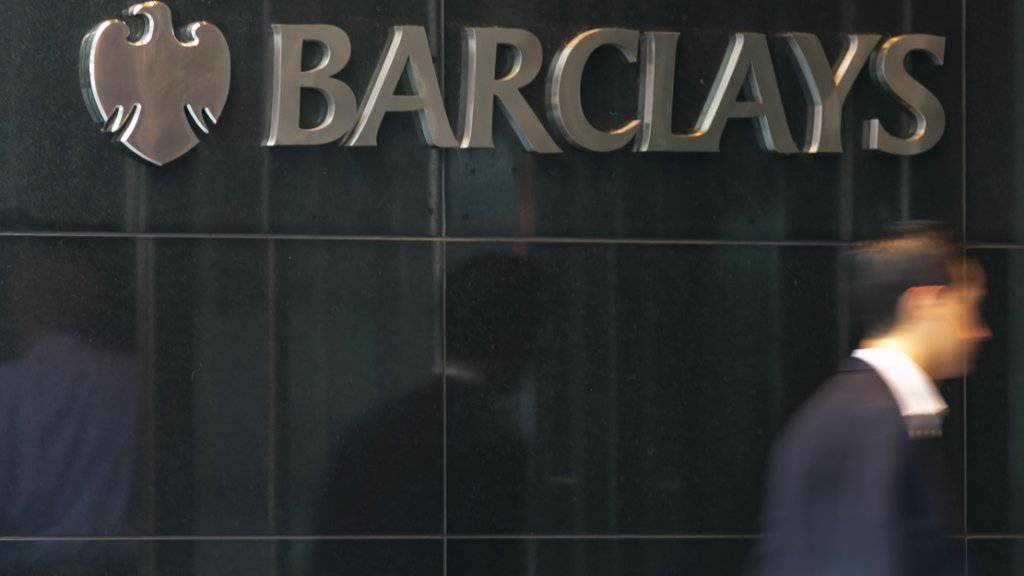 Die britische Grossbank Barclays hat im dritten Quartal einen Gewinnsprung gemacht und damit die Erwartungen deutlich übertroffen. (Archiv)