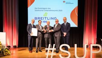Solothurner Unternehmerpreis 2020