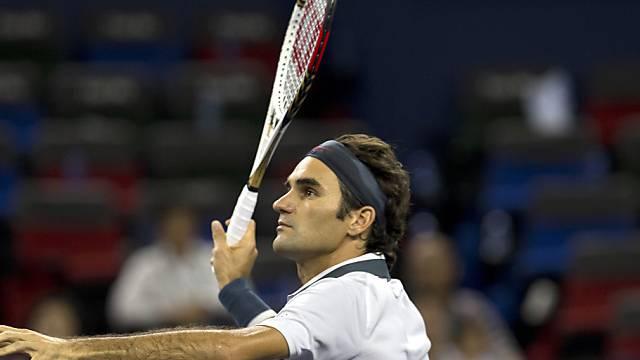 Federer am Mittwoch gegen Seppi