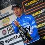 Der Pole Michal Kwiatowski feierte seinen ersten Sieg in einem grossen Etappenrennen
