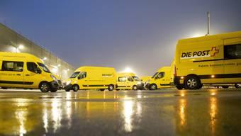 Im Paketzentrum der Post in Härkingen hatten die Mitarbeitenden 2020 einmal mehr sehr viel zu tun. (Symbolbild)