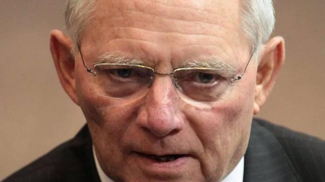 Schritt nach vorne: Finanzminister Schäuble begrüsst neue EU-Börsensteuer (Archiv)