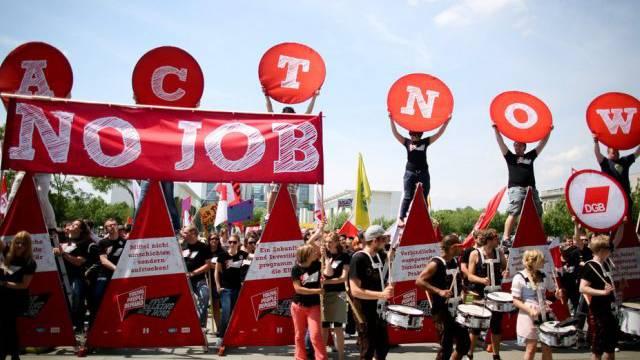Jugendarbeitslosigkeit nur in drei EU-Staaten unter 10 Prozent