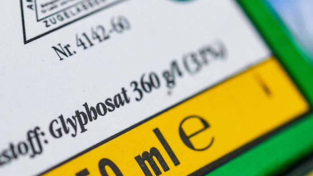 Soll in Österreich ganz verboten werden: Glyphosat (Archivbild).
