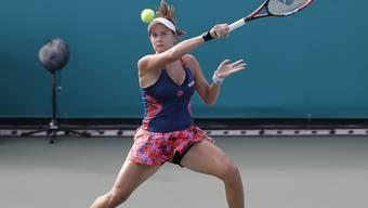 Stefanie Vögele verpasste den neuerlichen Einzug in das Hauptfeld am Australian Open in Melbourne