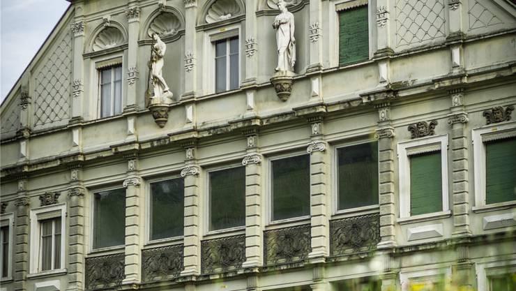 Die Fassade des «Bärens» steht nicht unter Schutz, wird aber erhalten. Chris Iseli