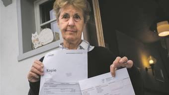Dicke Post: Noch heute ärgert sich Marianne Bollinger* über die Rechnung der Baselbieter Polizei.