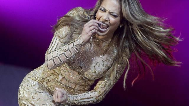 Jennifer Lopez bei einer Aufführung in Phoenix (Archiv)