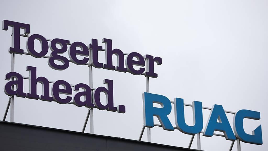 Airbus bau auch in Zukunft auf die Ruag. (Archivbild)