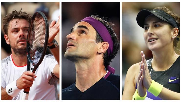 Was bringt die neue Tennis-Saison für die drei Schweizer Aushängeschilder Stan Wawrinka, Roger Federer und Belinda Bencic?