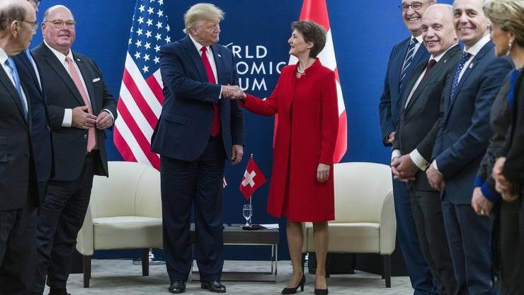 Die Delegation des Bundesrats kann keine entscheidenden Fortschritte beim Freihandelsabkommen mit den USA vorweisen.