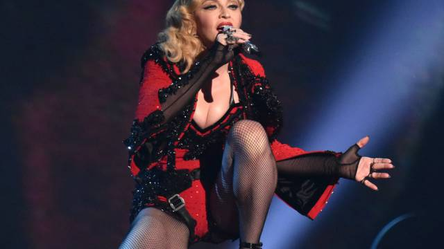 Madonna bei den Grammy Awards im Februar in Los Angeles (Archiv)