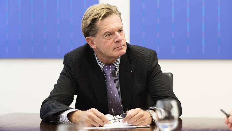 Gewerbedirektor Gabriel Barell sucht weitere Unterstützung für seinen Solidaritätsfond. (Archivbild)