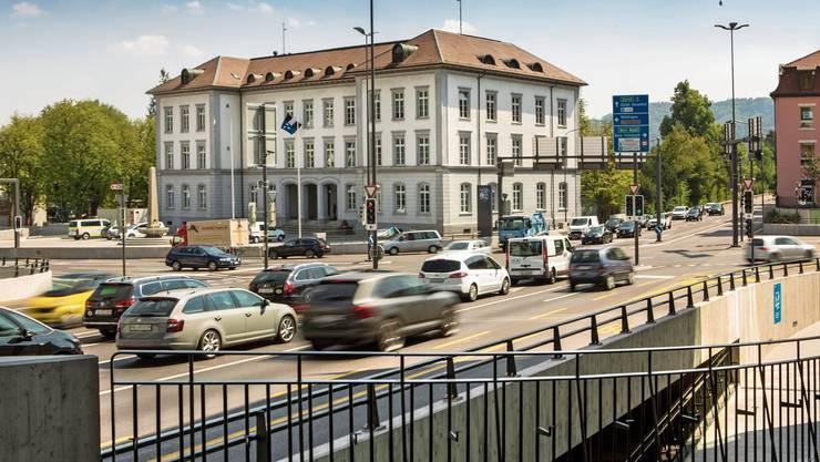 Das Bezirksgebäude in Baden muss saniert werden.