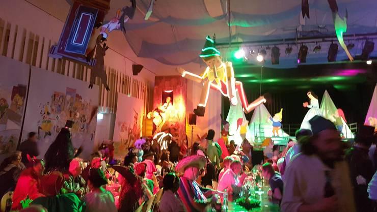 Auch dieses Jahr wird der Rüssknaller-Ball zahlreiche Fasnächtler ins Casino in Bremgarten locken.