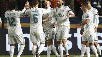 Real Madrid traf in Nikosia nach Belieben