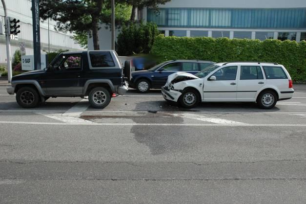 Die Lenkerin des Geländewagens wurde leicht verletzt