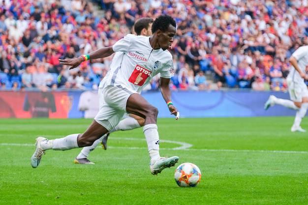 Es geht nur langsam vorwärts beim FC Luzern mit Neuzugang Ibrahima Ndiaye.