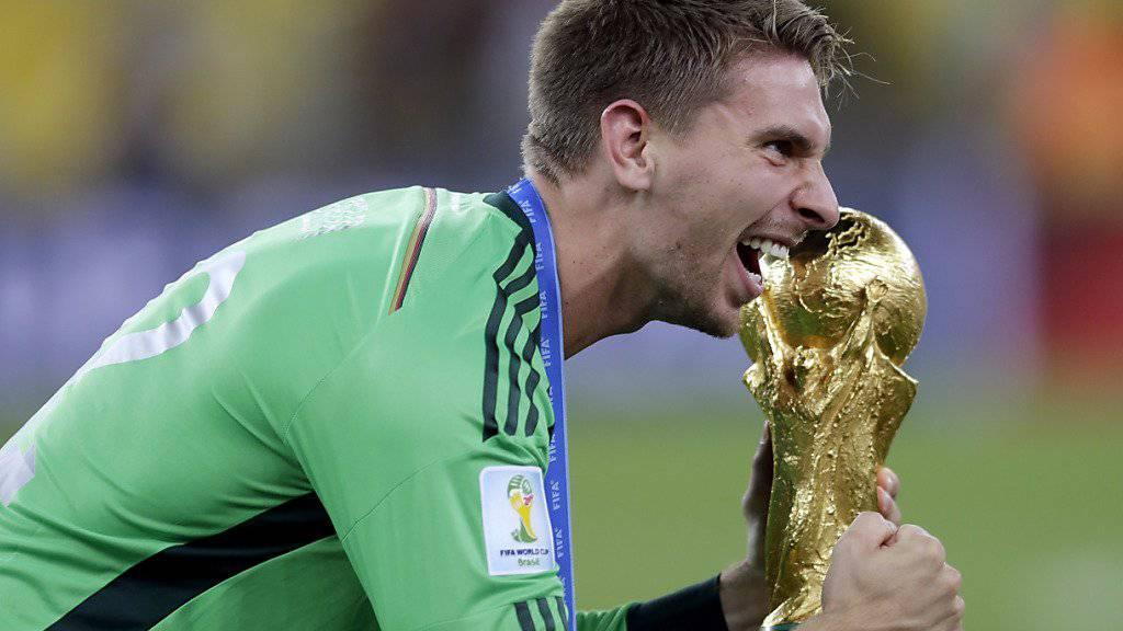 Gehörte dem WM-Kader in Brasilien an: der deutsche Goalie Ron-Robert Zieler