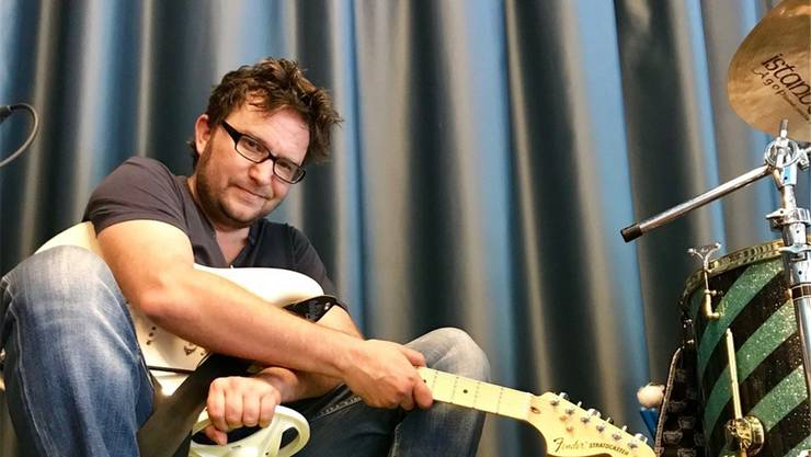 Musiker Michel Schürmann ist im «Frohsinn» Hunzenschwil aufgewachsen. zVg