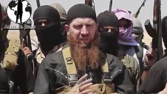 """Ist offenbar seinen Verletzungen erlegen: IS-Kriegsminister """"Omar der Tschetschene"""" (Archiv)"""