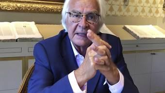 Verteidigt den wegen Korruption angeklagten israelischen Bergbauunternehmer Beny Steinmetz: der Genfer Anwalt Marc Bonnant.