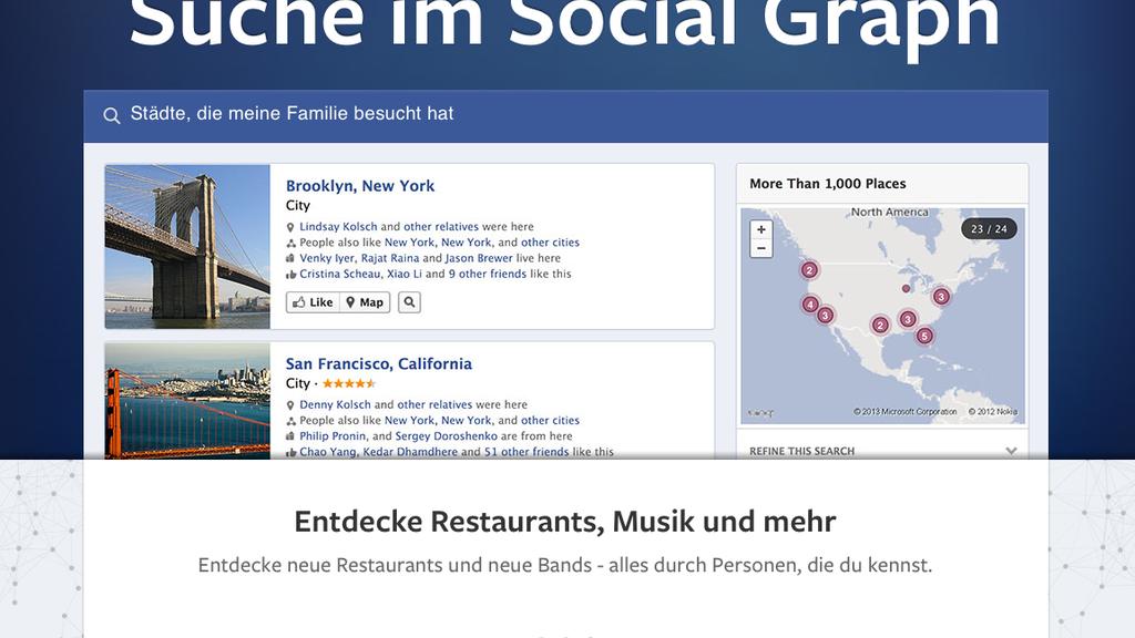 Facebook macht die Suche massiv besser