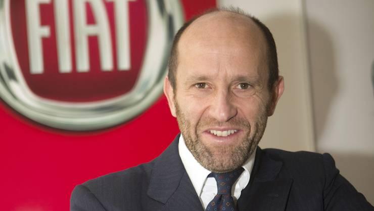 Fiat Europa-Chef Luca Napolitano