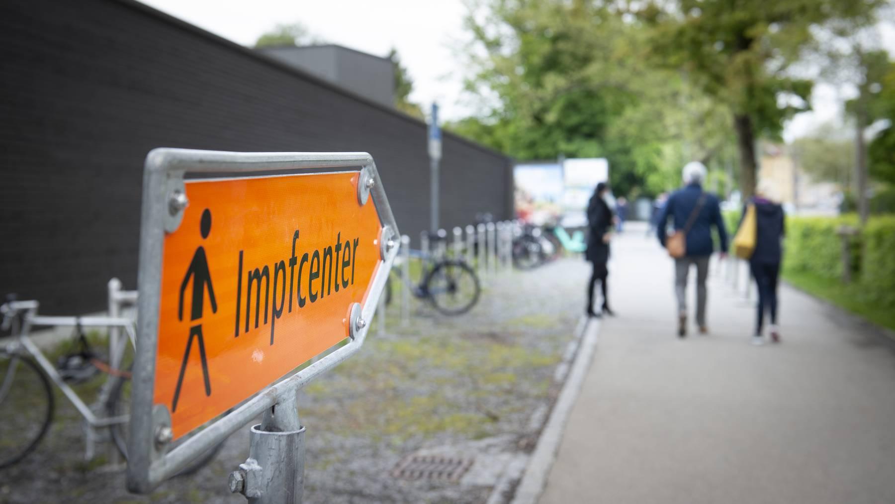 Bis Ende Juni wurden im Impfzentrum im Lerchenfeld rund 77'000 Impfungen verabreicht.