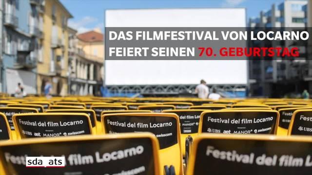 Das Filmfestival von Locarno wird 70