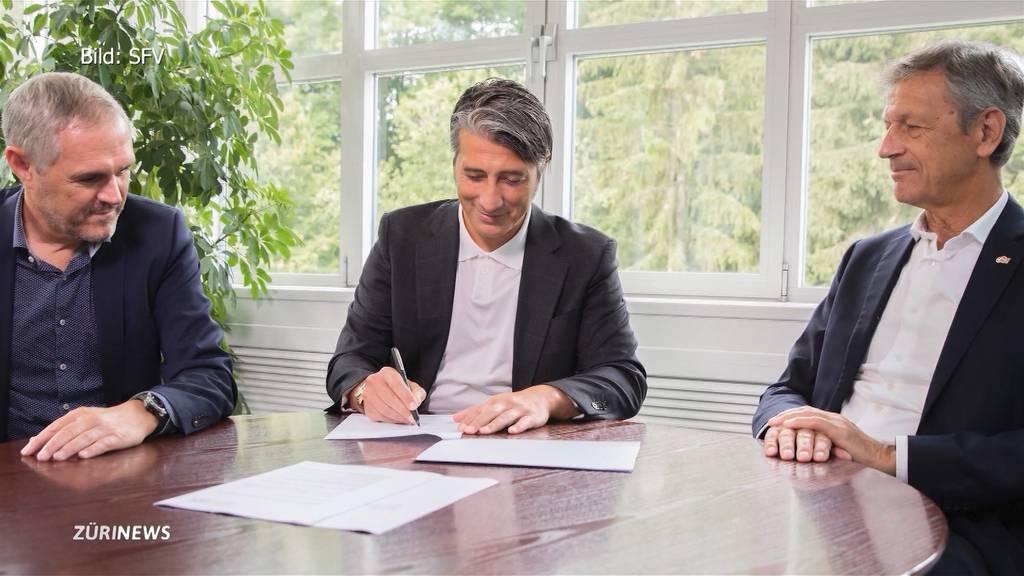 Jetzt ist es offiziell: Murat Yakin ist der neue Schweizer Nati-Trainer