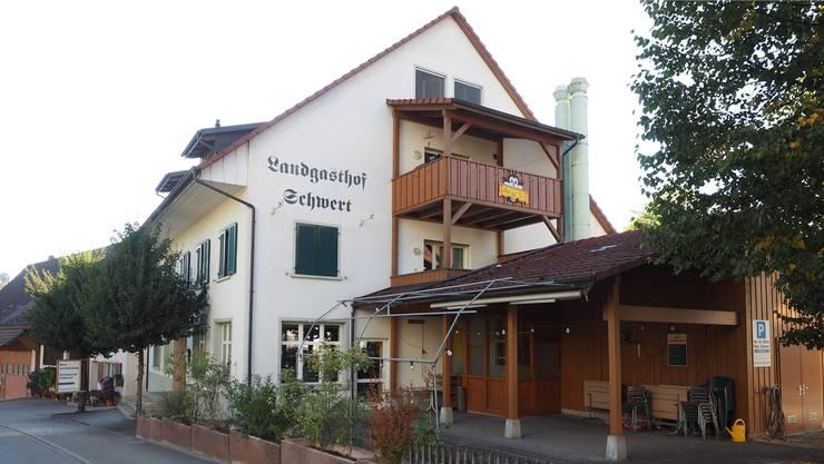 Bis Mitte August befindet sich die Verwaltung Schupfart im ehemaligen Restaurant Schwert.