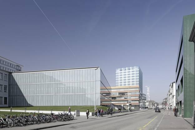 Visualisierung der Spitalstrasse