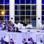 Die geleerte Alpenterme in Leukerbad: Vom 28. bis 30. Juni wird unter anderem dort die 24. Ausgabe des Internationalen Literaturfestivals über die Bühne gehen. (Archivbild)