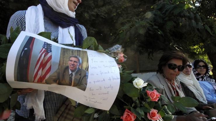 Trauer um den beim Anschlag getöteten US-Botschafter Chris Stevens. (Archivbild(
