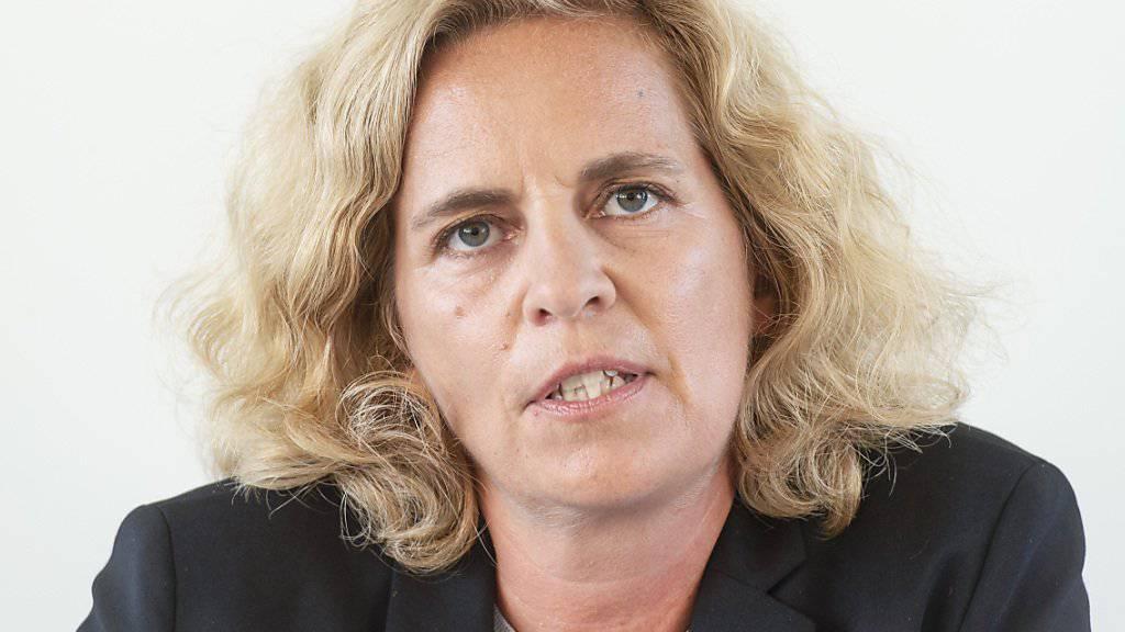 Karin Rykart (Grüne), Vorsteherin des Stadtzürcher Sicherheitsdepartements, geht davon aus, das die Stadtpolizei Zürich «angemessen und sorgfältig» beim Einsatz vor der Credit Suisse gehandelt hat. (Archivbild)