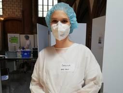 Caroline Wirz Medizinstudentin im sechsten Jahr und Mitarbeiterin im Basler Testzentrum.