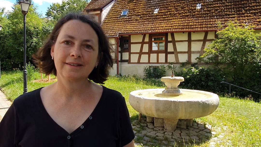 Im Video-Interview: Christiane Frank, Archäologin und Geschäftsführerin Römerstrasse Neckar-Alb-Aare