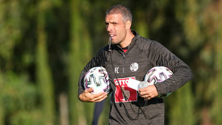 Neuer Trainer beim FC Luzern: Fabio Celestini.