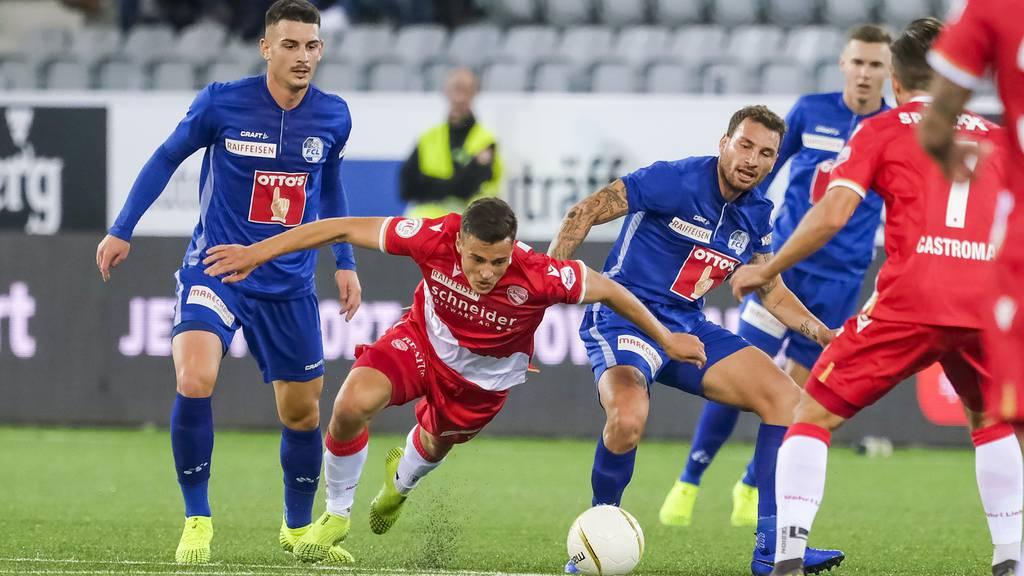 Der FCL gewinnt in Thun mit 2:0