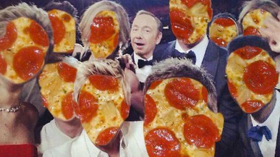 Was bleibt? Pizza und Kevin Spacey.