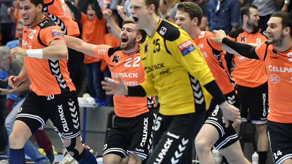 Perfekter Start der Kadetten Schaffhausen in die Champions League