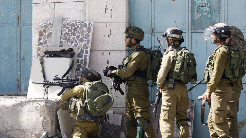 Israelische Soldaten in Hebron (Archiv).